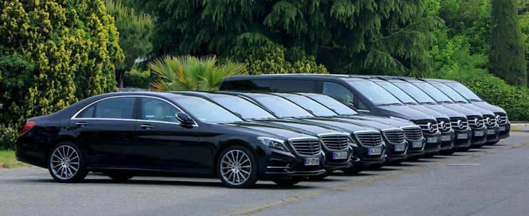 Flotte de berline de luxe